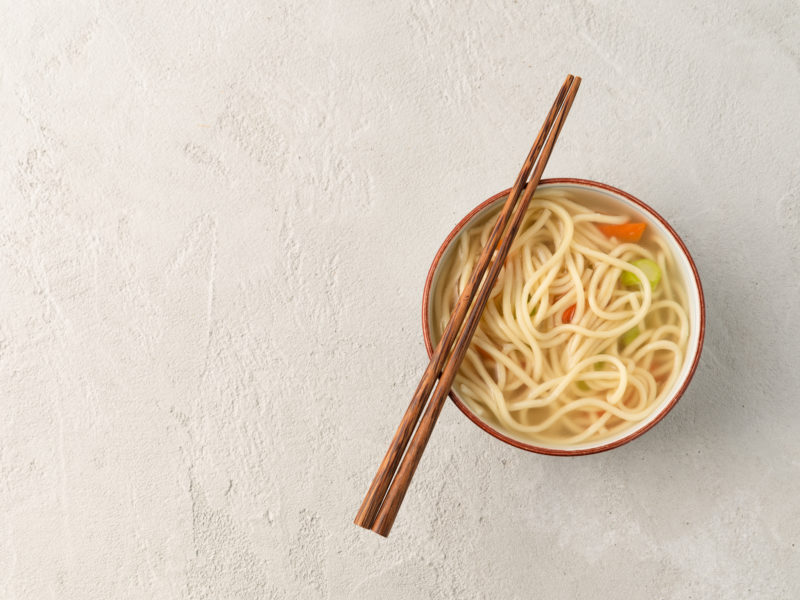 udon com legumes